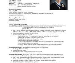 Wonderful Resume Sample Format For Ojt Students Images Entry Level