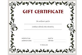 Custom Gift Certificate Templates Free Plain Gift Certificate Template Major Magdalene Project Org