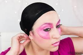 jem halloween makeup tutorial step 15