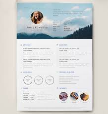 Photoshop Resume Template Extraordinary Best Free Clean Resume Templates In PSD AI And Word Docx Format