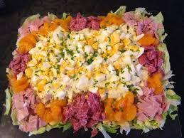 vlees salades maken