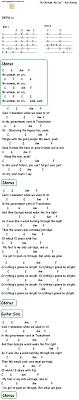 No Woman No Cry Chord Chart Reggae Guitar Lessons