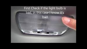 What Is The Dome Light In A Car How To Change The Dome Light On Acura Or Honda