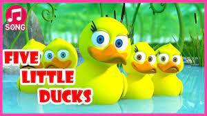 Nhạc thiếu nhi Tiếng Anh vui nhộn - Một Con Vịt - Five little ducks song - Nhạc  thiếu nhi mới nhất. - #1 Xem lời bài hát