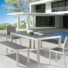 modern contemporary dining tables uk. full image for from our contemporary outdoor furniture collection the melun dining bench says it modern tables uk