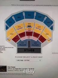 2 Lady Gaga Enigma Tickets Sec 204 Row F Front Row Behind