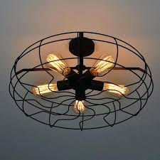 install ceiling lights vintage retro industrial fan ceiling lights country loft lamp iron material install wire