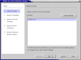 Creating An Active Directory Source Sun Java System Identity