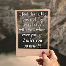 Miss You And Love You Quotes Interesting Romantic I Miss You Quotes And Messages I Miss You So Much