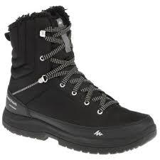 <b>Ботинки мужские</b> для зимних походов SH100 WARM HIGH ...