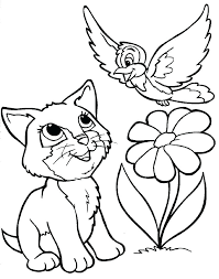 Cattle Dog Coloring Page Free Printable Pages Of Dogs And Cats Cat