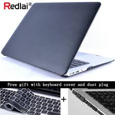 redlai pu leather case cover for macbook air pro retina 11 12 13 15 inch laptop bag for new mac pro 13 15 with touch bar 18