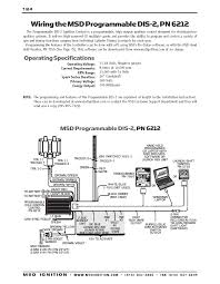 msd ignition wiring diagrams brianesser com msd dis 2 programmable installation instructions part 1