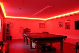 highlight lighting. Games Room Lit By LEDs Highlight Lighting F