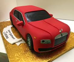 Designers Cake All Edible And Unique 3d Car Cake