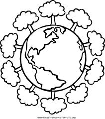 Disegni Maestra Mary Avec Giornata Mondiale Della Terra 3 Et Disegni
