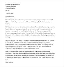 customer complaint letter sample example  sample customer complaint letter about damaged goods