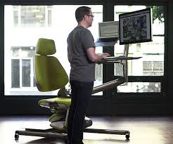 sit stand lay down workstation