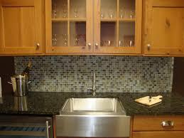 black granite countertop with lenova sinks and graff