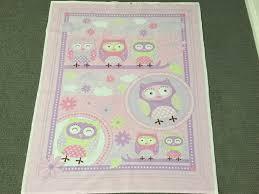 Baby quilt fabric. Girl fabric. Nursery fabric Novelty fabric Owl ... & Baby quilt fabric. Girl fabric. Nursery fabric Novelty fabric Owl fabric  Wall hanging fabric Baby quilt panels Fabric panels for baby quilts Adamdwight.com
