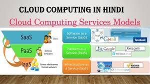 Iaas Vs Paas Saas Paas Iaas In Cloud Computing In Hindi Difference Between Iaas