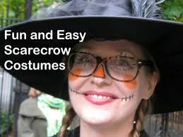 why dressing up as a scarecrow makes the best costume