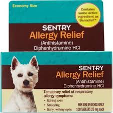 SENTRY Allergy Relief Tabs for Dogs - Dog Allergy Relief | PetCareRx