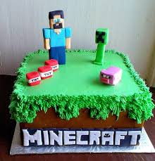 minecraft cake recipe. Plain Cake Minecraft Birthday Cake Recipe 7 With Cakes Recipes Intended E