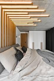 Loft Bedroom Privacy Chic Scandinavian Loft Interior