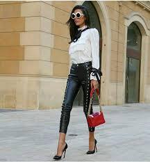 pants black skinny fashion pants leather skinny pants leather pants black leather pants style pants
