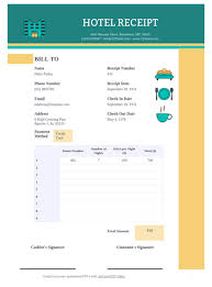 Receipt Layout Hotel Receipt Template Pdf Templates Jotform