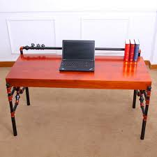 computer tables for office. Unique Office American Wood Desk Retro Styling Pipes Boss Computer Office  Furniture Wholesale In Computer Tables For Office