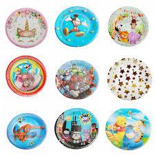 Celebrations & Occasions <b>10pcs</b> unicorn plates <b>disposable</b> paper ...