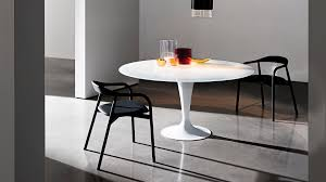 Kitchen Table Design Photos Flute Round Modern Design Collection Of Dining Table For