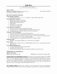 Java Developer Resume Example Web Developer Resume Format Elegant Java Developer Resume Sample 19