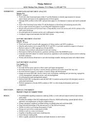 Sap Security Analyst Resume Samples Velvet Jobs