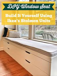 Diy Kitchen Cabinet Drawers Diy Window Seat From Ikea Stolmen Drawers A Better Depth Than