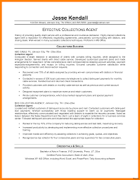 Collection Agent Resume Real Estate Agent Resume Template A Most