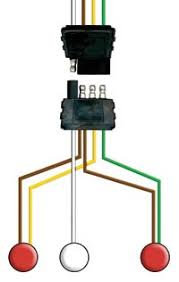 optronics international > products > accessories > mounting wiring 4 way wishbone style wiring harnesses