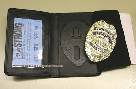 com strong leather company side opening badge case dress 77000 7102 badge holders office products
