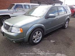 2005 ford freestyle at main street motors of enterprise or the dealership has not