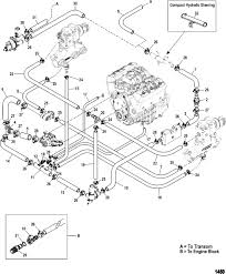 4 3 mercruiser engine diagram standard cooling system easy drain for cooling system schematic 4 3