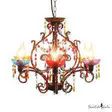 lights colorful light fixture
