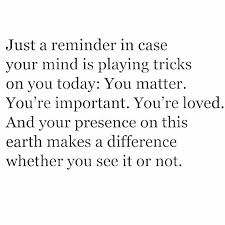 You Matter Quotes