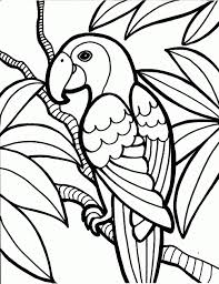 Printable Easy Adult Coloring Pages Fun Time Free Bird Fresh The