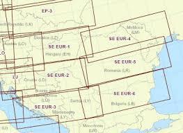Paper Chart Vfr Gps South East Europe Jeppesen Pilotshop
