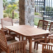 full size of patio round slatted teak bar table with black wicker stand stools interior furniture
