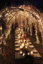 outside wedding lighting ideas. Delighful Outside Magical Tunnel Of Outdoor Wedding Lighting And Outside Wedding Lighting Ideas E