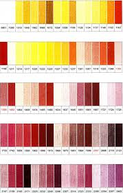 Finca Perle Cotton Color Chart Presencia Finca Collection