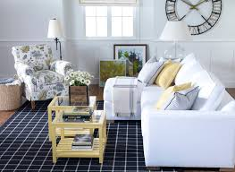 Yellow Living Room Decorating Colored Furniture Ethan Allen Blue White And Yellow Living Room